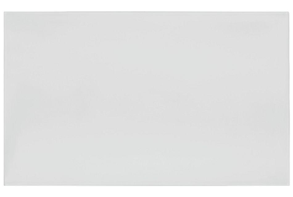 """Lisbon White 60"""" Rectangular Table"""