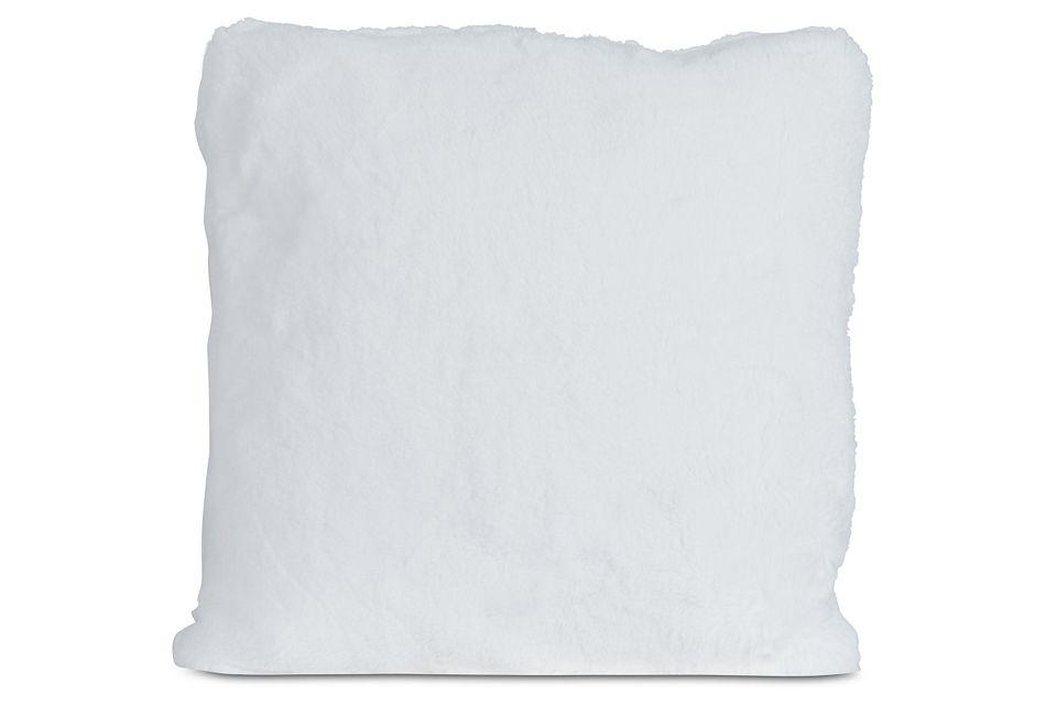 "Kaycee White 24"" Accent Pillow"