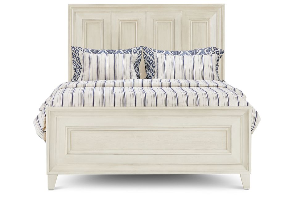 Dawson Ivory Panel Bed, Queen (3)