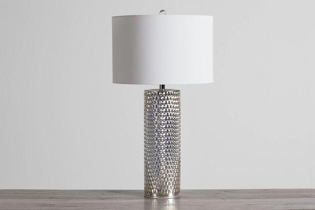 Fiona Chrome Glass Table Lamp (0)