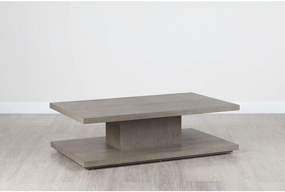 "Nixon Light Tone 54"" Rectangular Coffee Table"
