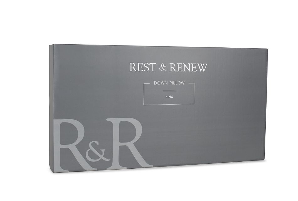 Rest & Renew Down 30% Side Sleeper Pillow
