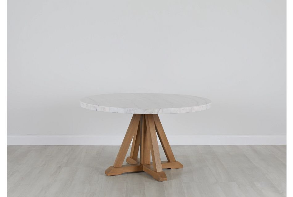 Somerset White Round Table