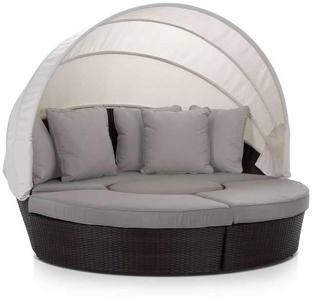 Fina Gray Canopy Daybed (2)