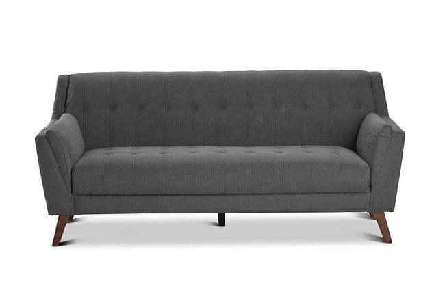 Tahoe Dark Gray Fabric Sofa
