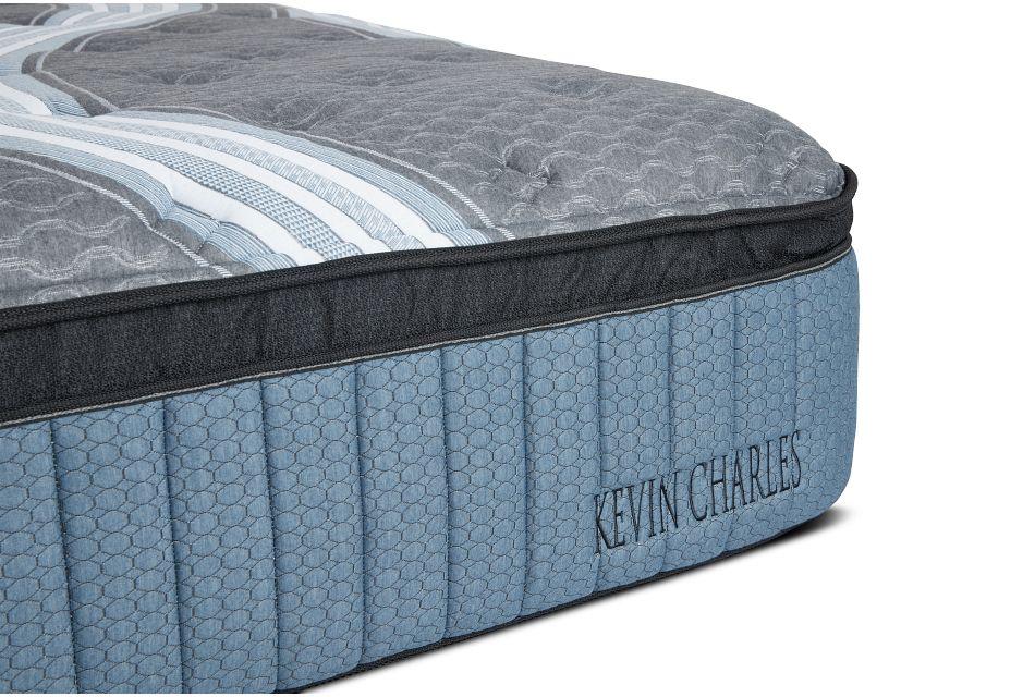 "Kevin Charles Winter Haven Lux Plush Luxury Plush 15.25"" Euro Top Mattress, King (1)"