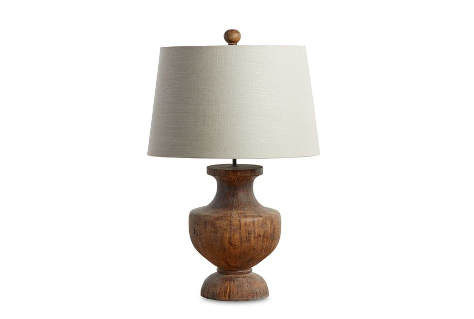 Stella Brown  Table Lamp,  (2)