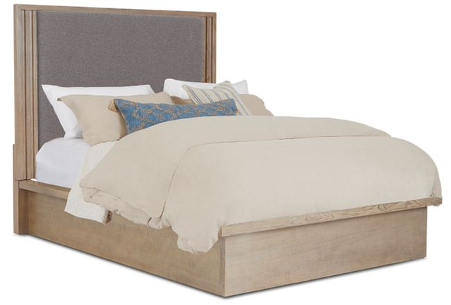 Pasadena Two-tone Uph Panel Bed