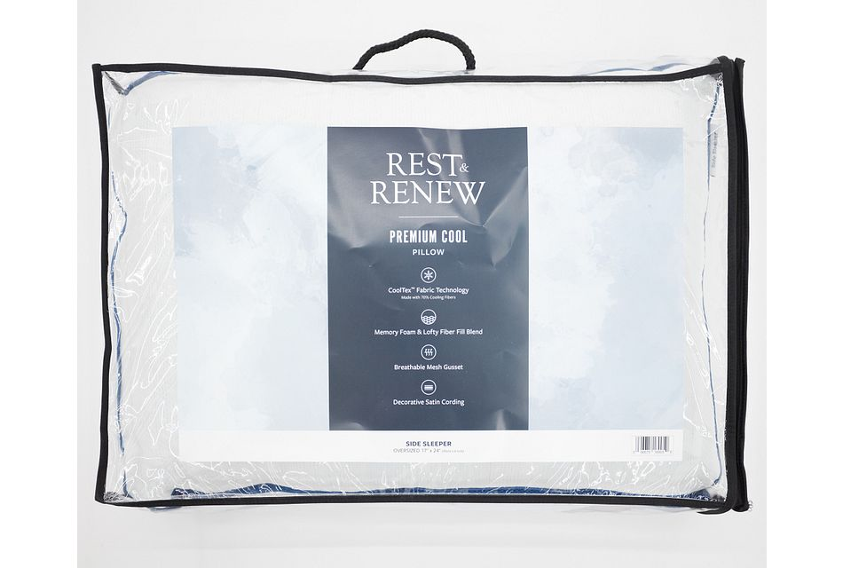 Rest & Renew Premium Cool   Side Sleeper Pillow