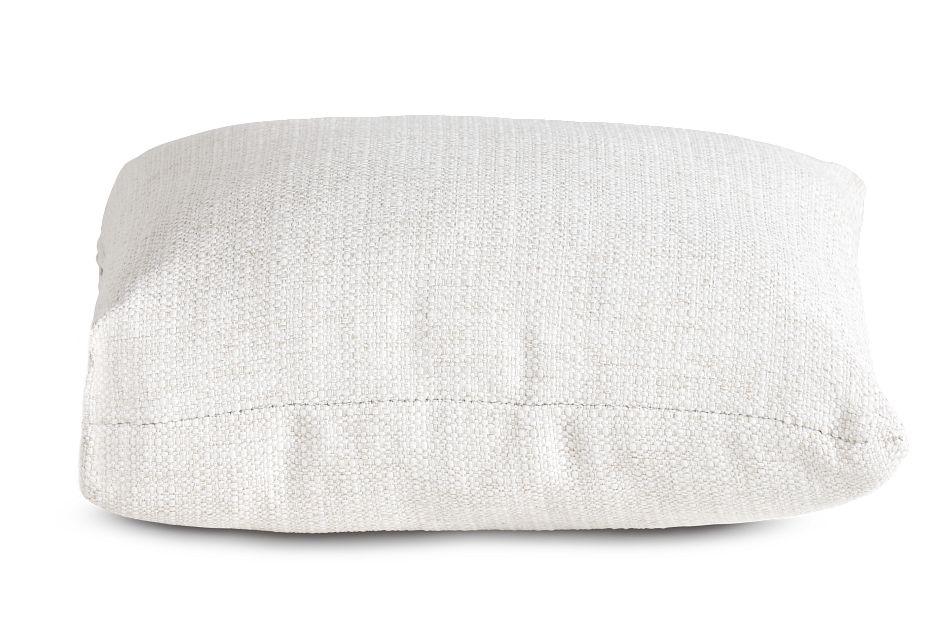 "Austin White 18"" Square Accent Pillow,  (2)"