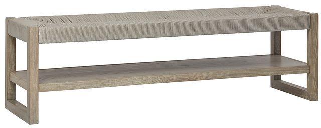 Zephyr Light Tone Woven Bench (1)