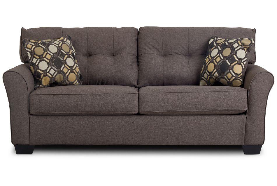 Laryn Dark Gray Micro Sofa,  (1)