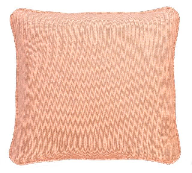 """Sensation Light Orange 18"""" Indoor/outdoor Accent Pillow"""