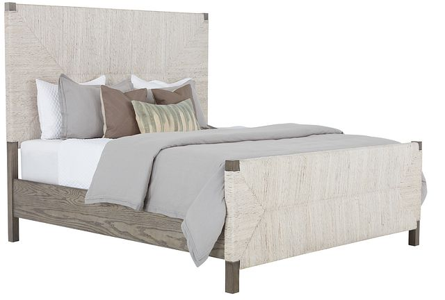 Palma Light Tone Woven Panel Bed (0)