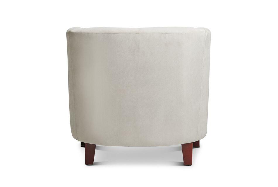 Concord Light Beige  Velvet Accent Chair,  (3)