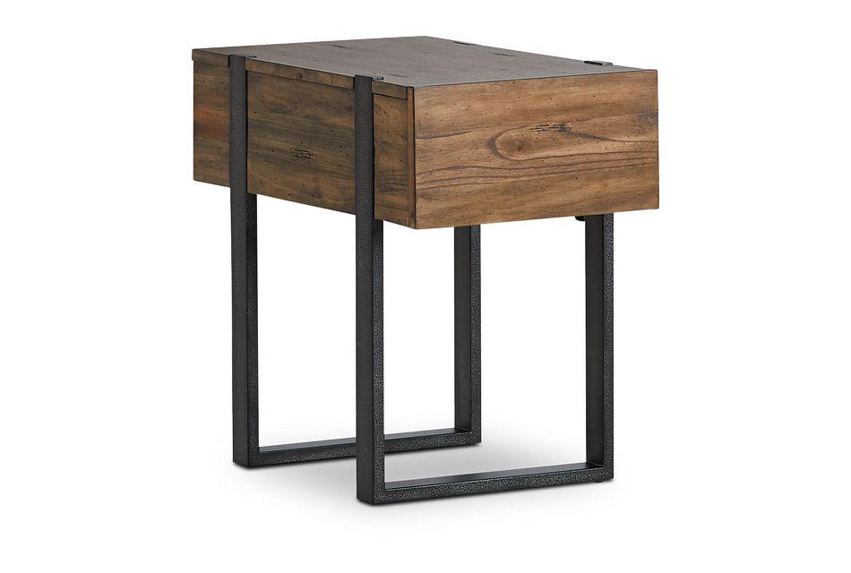 Prescott Mid Tone Small Rectangular End Table
