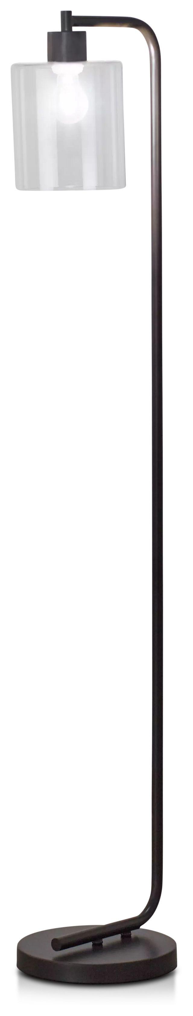 Maxwell Black Metal Floor Lamp (2)