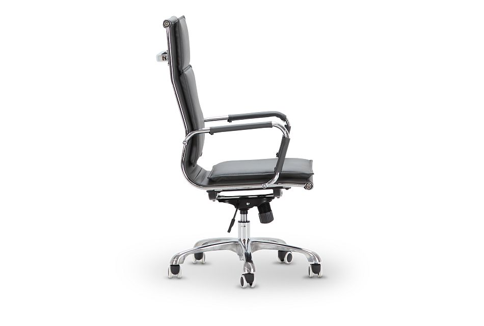 Arvada Gray Uph Desk Chair, %%bed_Size%% (2)