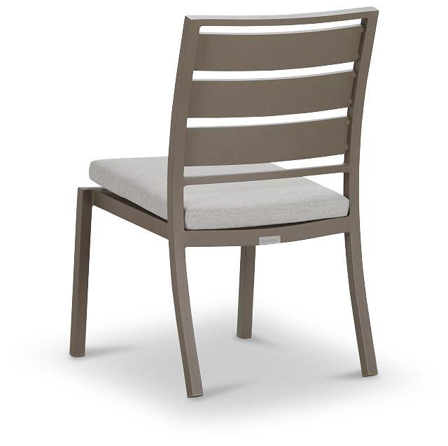 Raleigh White Aluminum Side Chair (3)
