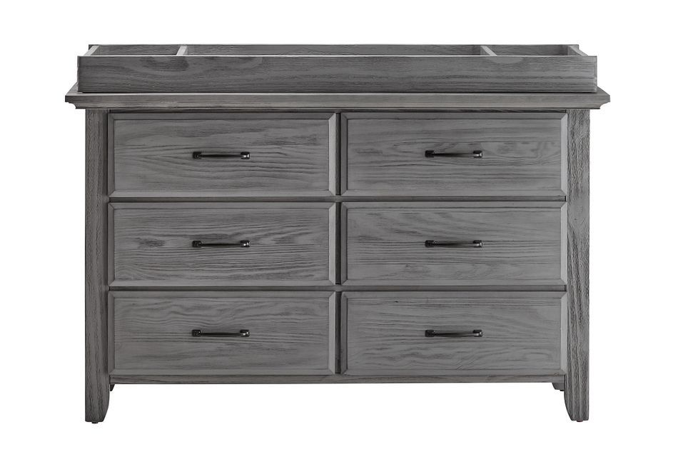 Willowbrook Gray Dresser With Changing Top