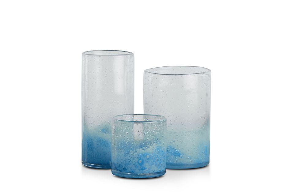 Allie Blue Vase