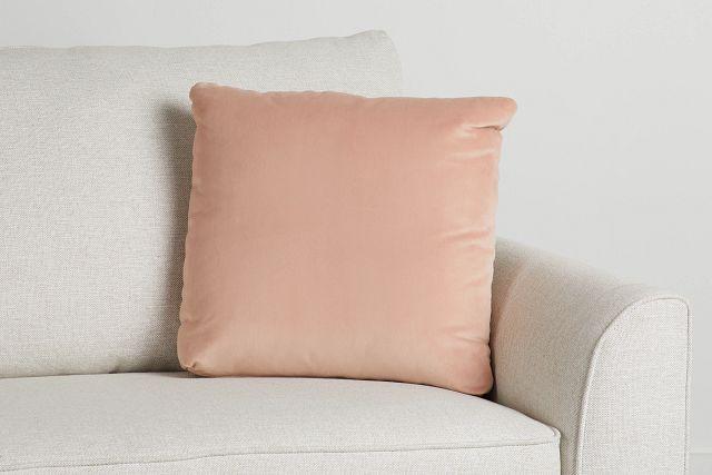 """Joya Light Pink Velvet 18"""" Accent Pillow (0)"""