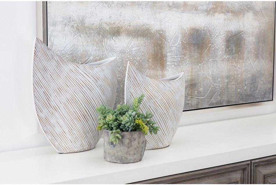Gru Gray  Vase,  (3)