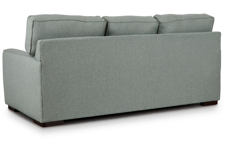 Austin Green Fabric Sofa