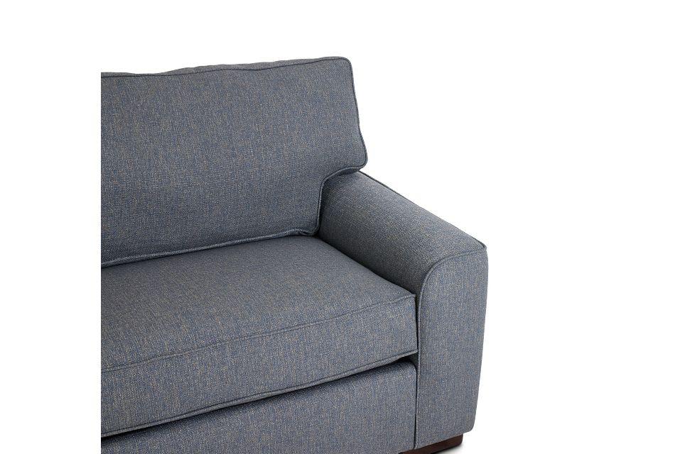 Austin Blue Fabric Innerspring Sleeper