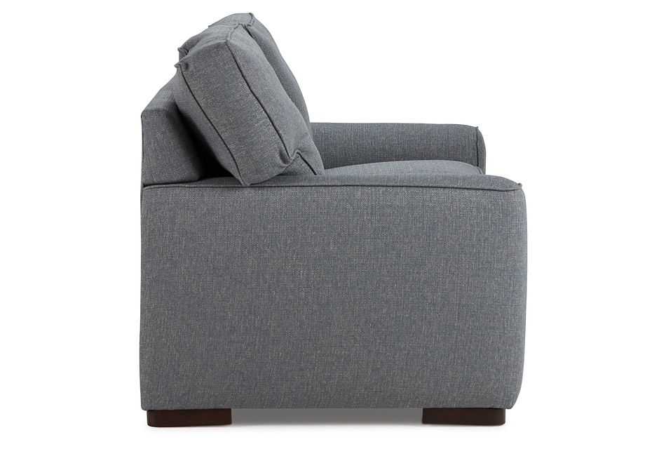 Austin Blue Fabric Sofa