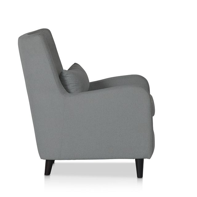Fremont Gray Fabric Accent Chair (2)