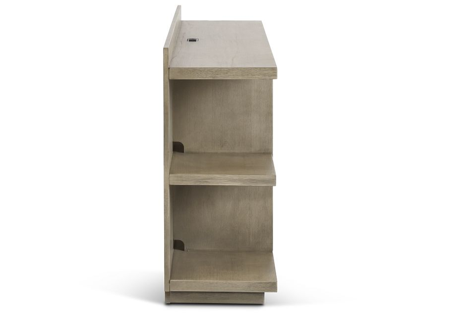 Vista Light Tone Small Bookcase,  (3)