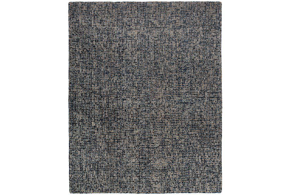 Ryker Dark Blue 8x10 Area Rug
