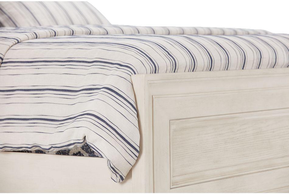 Dawson Ivory Panel Bed