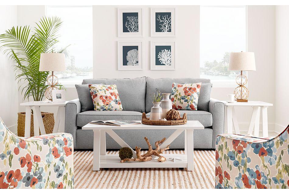 Ripley Light Blue Fabric Sofa Living Room Sofas City Furniture