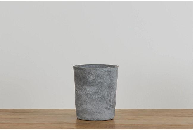 Aria Round Cement Planter