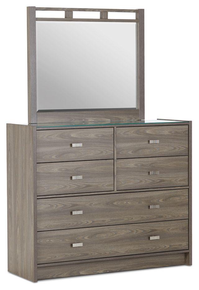 Sutton Light Tone Dresser & Mirror (1)