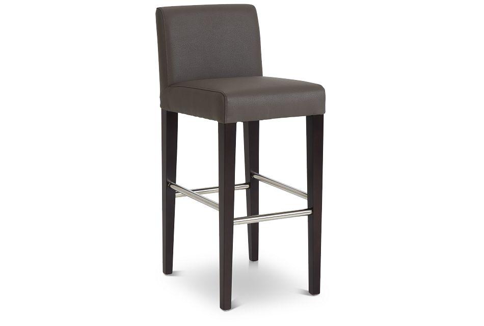 """Cane Graymicro 30"""" Upholstered Barstool,  (1)"""