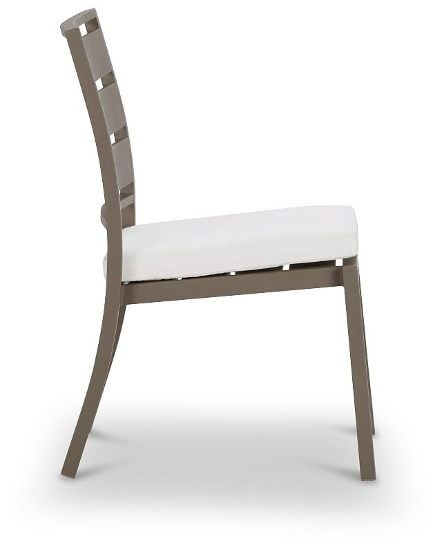 Raleigh Gray Aluminum Side Chair (1)