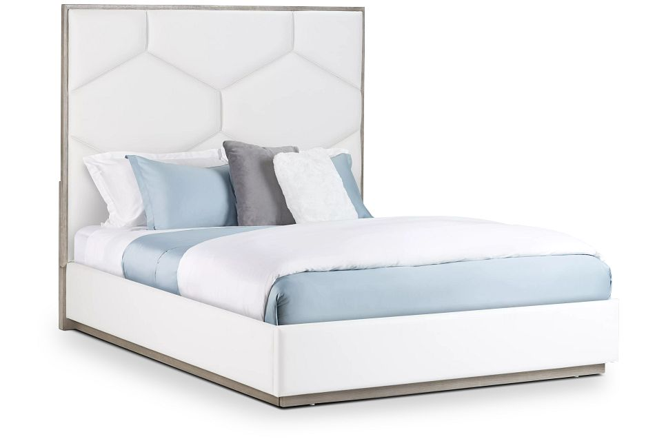 Rio Light Tone Uph Panel Bed
