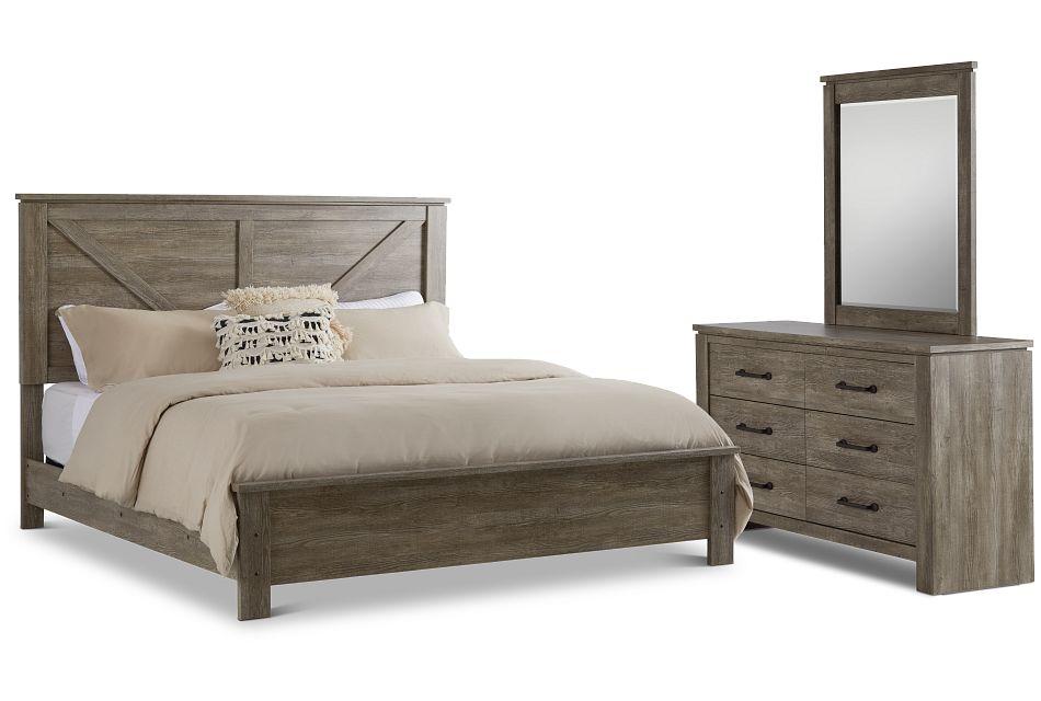 Blueridge Light Tone Panel Bedroom