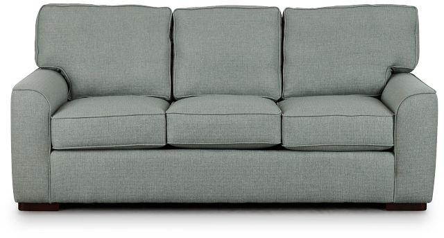 Austin Green Fabric Sofa (0)