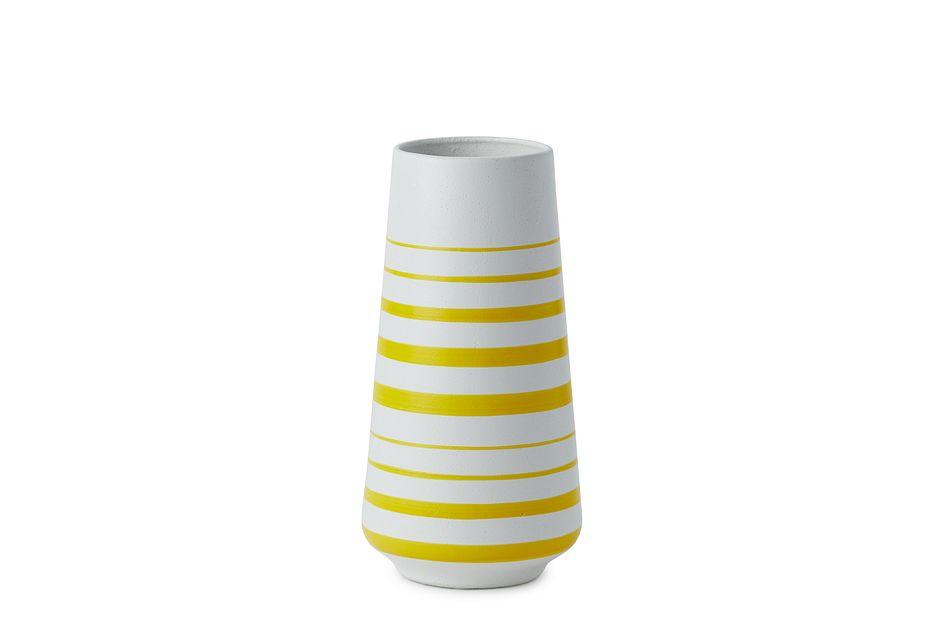 Lara Large Yellow Vase
