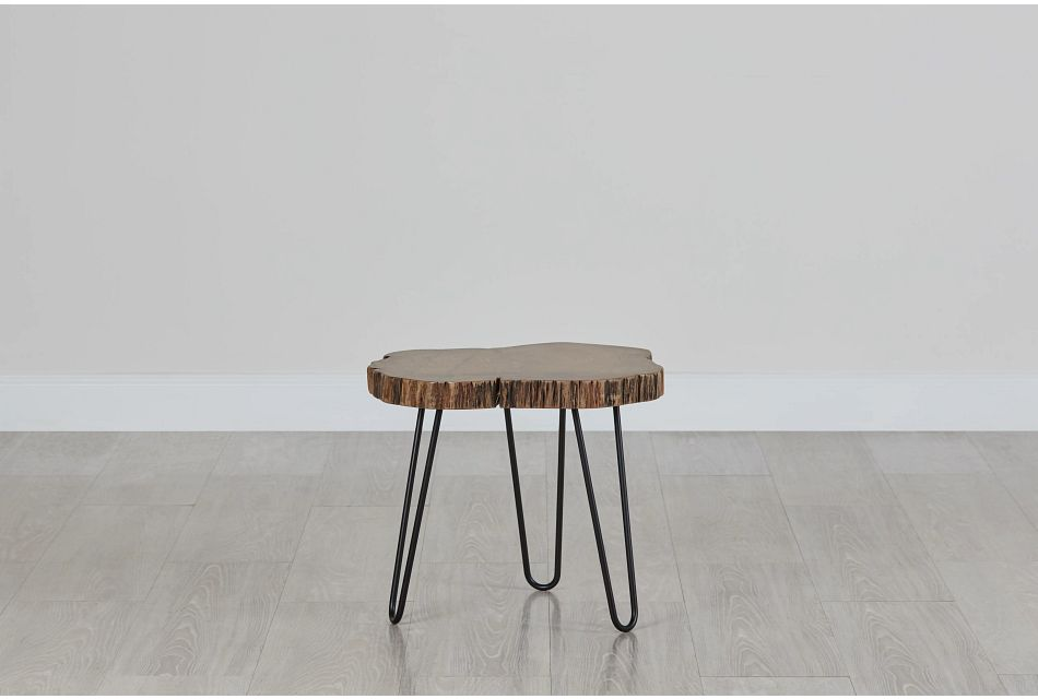 Kyrie Wood Accent Table