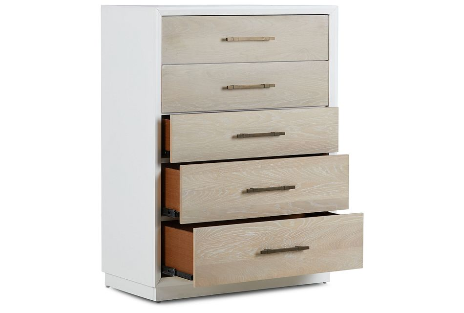 Boca Grande Two-tone   5-drawer Chest