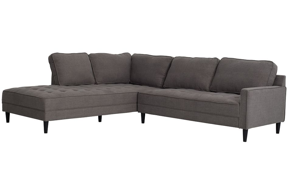 Eli Gray Micro Left Chaise Sectional