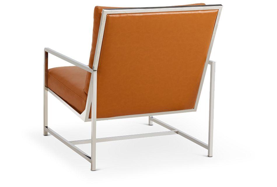 Harvey Medium Brown Uph Accent Chair