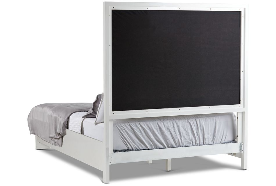 Ocean Drive White Uph Panel Bed
