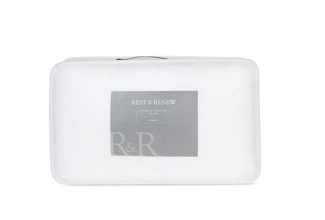 Rest & Renew Down Alternative Back Sleeper Pillow