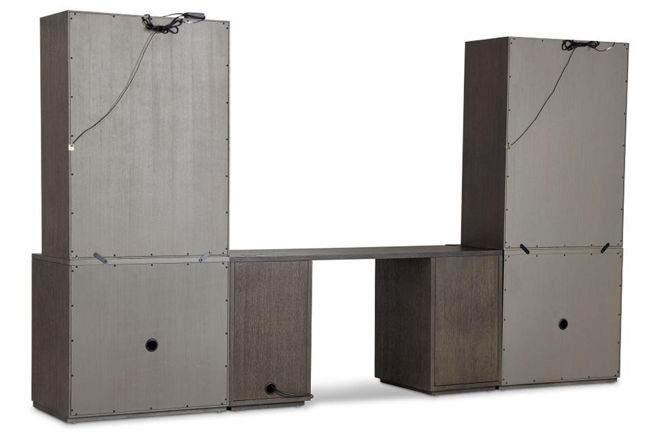 Highline Dark Tone Door Wall Desk